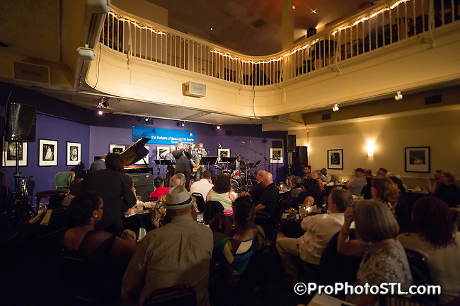"A memorial concert honoring the late Richard ""Rich"" McDonnell and featuring artists from his MAXJAZZ label at Jazz at the Bistro on May 25, 2014."