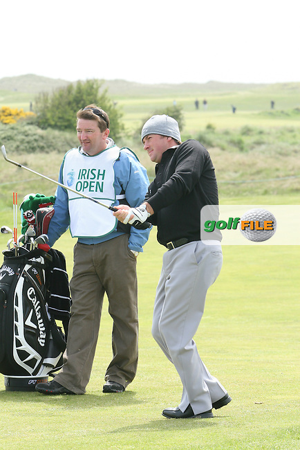 Graeme McDowell during the Pro-Am at the Irish Open in Co.Louth Golf Club,  Baltray...Photo NEWSFILE/Jenny Matthews.(Photo credit should read Jenny Matthews/NEWSFILE)....This Picture has been sent you under the condtions enclosed by:.Newsfile Ltd..The Studio,.Millmount Abbey,.Drogheda,.Co Meath..Ireland..Tel: +353(0)41-9871240.Fax: +353(0)41-9871260.GSM: +353(0)86-2500958.email: pictures@newsfile.ie.www.newsfile.ie.FTP: 193.120.102.198.