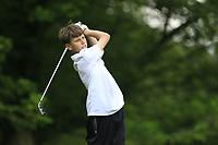 Mark Gazi (Tralee) during the Connacht U14 Boys Amateur Open, Ballinasloe Golf Club, Ballinasloe, Galway,  Ireland. 10/07/2019<br /> Picture: Golffile | Fran Caffrey<br /> <br /> <br /> All photo usage must carry mandatory copyright credit (© Golffile | Fran Caffrey)
