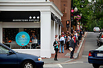 line out the door and down the street, rain or shine, for cupcakes.<br /> georgetown, washington, d.c.