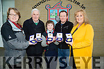 Ardfert NS launches Special Centenary Medal on Tuesday evening launching the medal, were,helen O'Connor (Kerry Musum),Sean Seosamh Conchubhair, Oisín Dowling,Donal Stack (designer) and Betty Stack (Principal), .