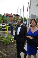 White House Correspondent's Dinner 2011 arrival images.