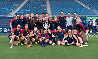 Kansas City, KS - July 25, 2018: The USWNT trains for the Tournament of Nations at Children's Mercy Park