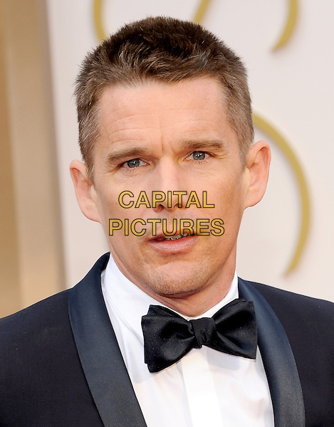 HOLLYWOOD, CA - MARCH 2: Ethan Hawke arriving to the 2014 Oscars at the Hollywood and Highland Center in Hollywood, California. March 2, 2014.  <br /> CAP/MPI/mpi99<br /> &copy;mpi99/MediaPunch/Capital Pictures
