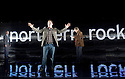 The Power of Yes by David Hare,directed by Angus Jackson.With Christian Roe as A young Man at the Bank,John Holligworth as A Northern Echo Journalist, Anthony Calf as The Author,Opens at The Lyttleton Theatre at The Royal National Theatre on 6/10/09.CREDIT Geraint Lewis
