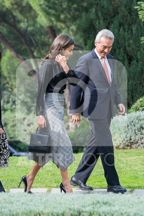 Queen Letizia of Spain attends 'International Friendship Awards' in Madrid. October 09, 2019. (ALTERPHOTOS/ Francis Gonzalez)