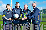 COACHING: Launching the Coaching Conference in Austin Stack Park, Tralee on Monday L-R; Mike McCarthy (Coaching), Doanl Daly (Games manager), John Griffin(GDA) and Martin Horgan (GDA)................................. .. .............................................................. ....................