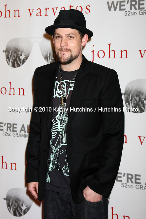 "Joel Madden.arriving at the ""We're All Fans"" Event..John Varvatos Store.Los Angeles, CA.January 28, 2010.©2010 Kathy Hutchins / Hutchins Photo...."