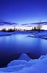 5 minute exposure of rapids along the Pinawa Channel, North of the town of Pinawa, Manitoba.  .Equipment used:   Canon 5D, 17-40 F4L lens, 3 stop hard edge grad., polarizer, Velbon CF Tripod, Manfrotto ball head..
