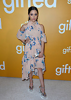 Actress Jenna Ortega at the premiere for &quot;Gifted&quot; at The Grove. Los Angeles, USA 04 April  2017<br /> Picture: Paul Smith/Featureflash/SilverHub 0208 004 5359 sales@silverhubmedia.com