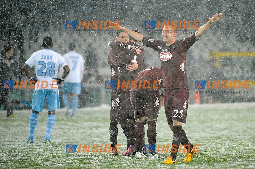 Kamil Glik Esulta Torino .Torino 16/03/2013 Stadio Olimpico Torino.Football Calcio Serie A  2012/13.Torino vs Lazio.Foto Insidefoto Federico Tardito
