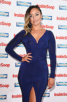 Rhea Bailey<br /> at the Inside Soap Awards 2016 held at the Hippodrome Leicester Square, London.<br /> <br /> <br /> ©Ash Knotek  D3157  03/10/2016