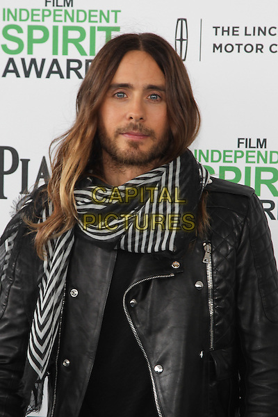 SANTA MONICA, CA - MARCH 1: Jared Leto attending the 2014 Film Independent Spirit Awards in Santa Monica, California on March 1st, 2014. Photo Credit: RTNUPA/MediaPunch<br /> CAP/MPI/RTNUPA<br /> &copy;RTNUPA/MediaPunch/Capital Pictures