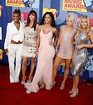 LOS ANGELES, CA. - September 07: SIngers Pussycat Dolls arrive at the 2008 MTV Video Music Awards at Paramount Pictures Studios on September 7, 2008 in Los Angeles, California.