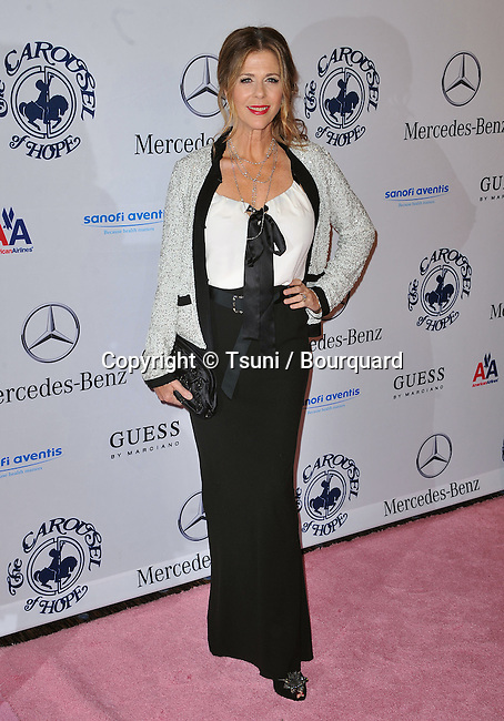 Rita Wilson - Carousel Of Hope at the Beverly Hilton Hotel In LosAngeles.