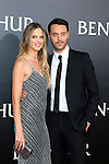 LOS ANGELES - AUG 16: Jack Huston, Shannan Click at the premiere of Ben-Hur at the TCL Chinese Theatre IMAX on August 16, 2016 in Los Angeles, California