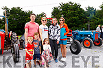 Visitors to the Asdee Vintage tractor run which was on last Sunday were <br /> Back from Left:<br /> John O'Sullivan, Gemma Collins, Maura Doran, Bernadette Doran.<br /> Front From Left:<br /> Shane Collins, Jc & Lily O'Sullivan.