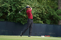 Tiger Woods (USA) tees off on the 9th hole during the final round of the 100th PGA Championship at Bellerive Country Club, St. Louis, Missouri, USA. 8/12/2018.<br /> Picture: Golffile.ie | Brian Spurlock<br /> <br /> All photo usage must carry mandatory copyright credit (&copy; Golffile | Brian Spurlock)