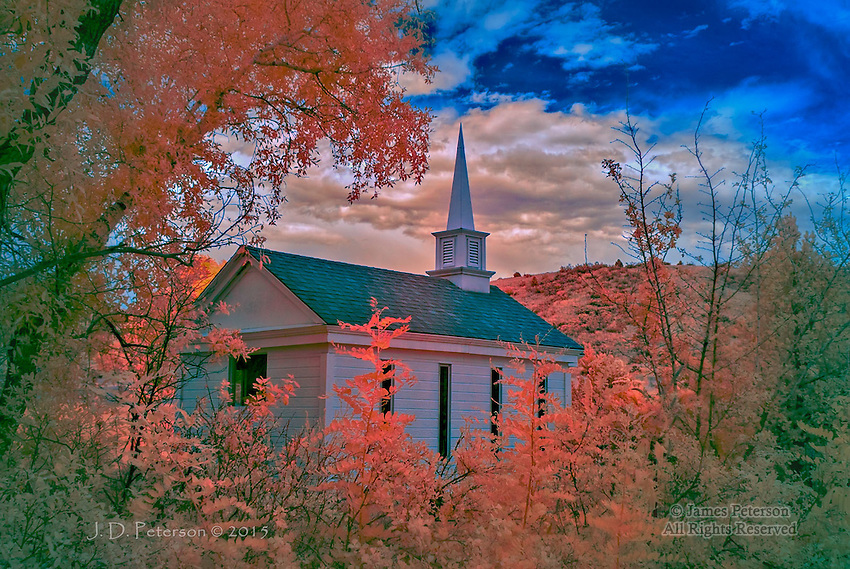 American Mothers Chapel, Colorado Springs (Infrared)