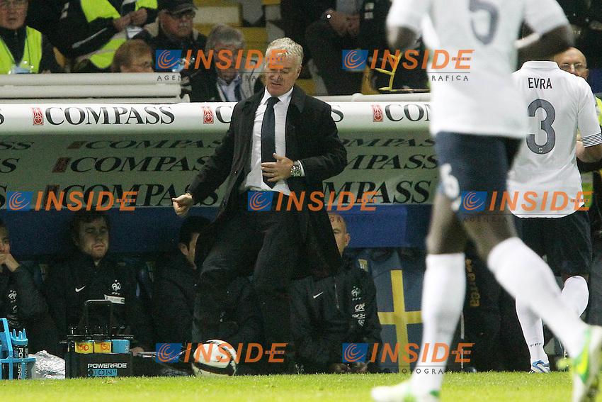 """Didier Deschamps Francia.Parma 14/11/2012 Stadio """"Tardini"""".Football Calcio Amichevole Nazionale A 2012/13.Italia v Francia.Foto Insidefoto Paolo Nucci."""