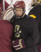 Anthony Aiello - Boston College's morning skate on Friday, December 30, 2005 at Magness Arena in Denver, Colorado.  Boston College defeated Ferris State that afternoon in a shootout and defeated Princeton the following night to win the Denver Cup.