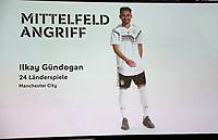 Ilkay Gündogan (Manchester City) ist für den WM Kader nominiert - 15.05.2018: Vorläufige WM-Kaderbekanntgabe, Deutsches Fußballmuseum Dortmund