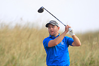 Richard McCrudden (Royal Portrush) on the 11th tee during Round 2 - Strokeplay of the North of Ireland Championship at Royal Portrush Golf Club, Portrush, Co. Antrim on Tuesday 10th July 2018.<br />