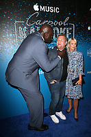 07 August 2017 - West Hollywood, California - Shaquille O'Neal, James Corden, Julia Carey. 'Carpool Karaoke: The Series' On Apple Music Launch Party held at Chateau Marmont. Photo Credit: F. Sadou/AdMedia