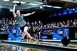 CLAYTON, MO - APRIL 14: Samantha Gainor #16 of Vanderbilt University releases the ball during the Division I Women's Bowling Championship held at Tropicana Lanes on April 14, 2018 in Clayton, Missouri. Vanderbilt University defeated McKendree University 4-3. (Photo by Tim Nwachukwu/NCAA Photos via Getty Images)