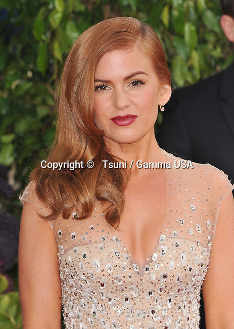 Ella Fisher _418 arriving at the 70th Golden Globes Awards 2013 at the  Hilton Hotel In Beverly Hills.