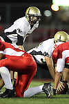 Lawndale, CA 10/01/10 - Brock Dale (Peninsula #7) in action during the Peninsula-Lawndale Varsity football game.