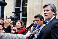 Parigi 22/05/2012 Il Ministro dell'Agricoltura Francese Gerard Roussel in conferenza stampa..Photo Gerard Roussel /Panoramic / Insidefoto