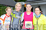 ..Alice Butler, Niamh Walsh, Rose Herlihy and Eibhin Cleary Killarney keeping fit the Killarney Adventure race on Saturday ....