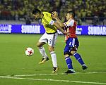 La Selección Paraguay venció como visitante 2-1 a la Selección Colombia. Fecha 17 Eliminatorias Sudamericanas.