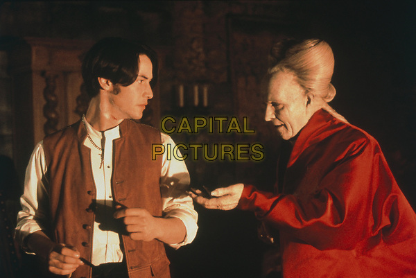 Bram Stoker's Dracula (1992)<br /> Gary Oldman &amp; Keanu Reeves<br /> *Filmstill - Editorial Use Only*<br /> CAP/KFS<br /> Image supplied by Capital Pictures