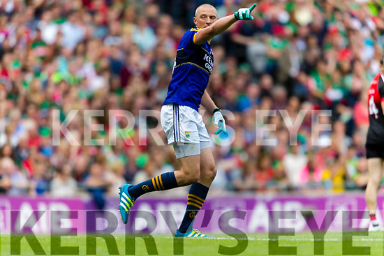 Kieran Donaghy Kerry in action against  Mayo in the All Ireland Semi Final Replay in Croke Park on Saturday.