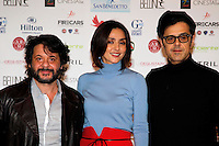 Giornate Professionali del Cinema 2014                              Greg ,Ambra Angiolini and Lillo   attends at the professional days of cinema in Sorrento december 01 , 2014