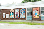 Mural in downtown Almonte, Ontario, Canada