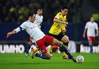 Fussball Bundesliga 2011/12: Hamburger SV - Borussia Dortmund
