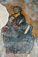 Christ,fresco,eastern wall of offertory,Milesheva  Monastery of Ascension of the Lord , 1234-1235