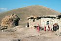 Iran 1979.In a Kurdish village, women