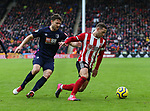 Simon Francis of Bournemouth and Billy Sharp of Sheffield Utd in action during the Premier League match at Bramall Lane, Sheffield. Picture date: 9th February 2020. Picture credit should read: Chloe Hudson/Sportimage