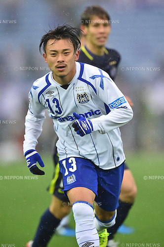 Hiroyuki Abe (Gamba),<br /> FEBRUARY 20, 2016 - Football / Soccer :<br /> FUJI XEROX Super Cup 2016 match between Sanfrecce Hiroshima 3-1 Gamba Osaka at Nissan Stadium in Kanagawa, Japan. (Photo by AFLO)