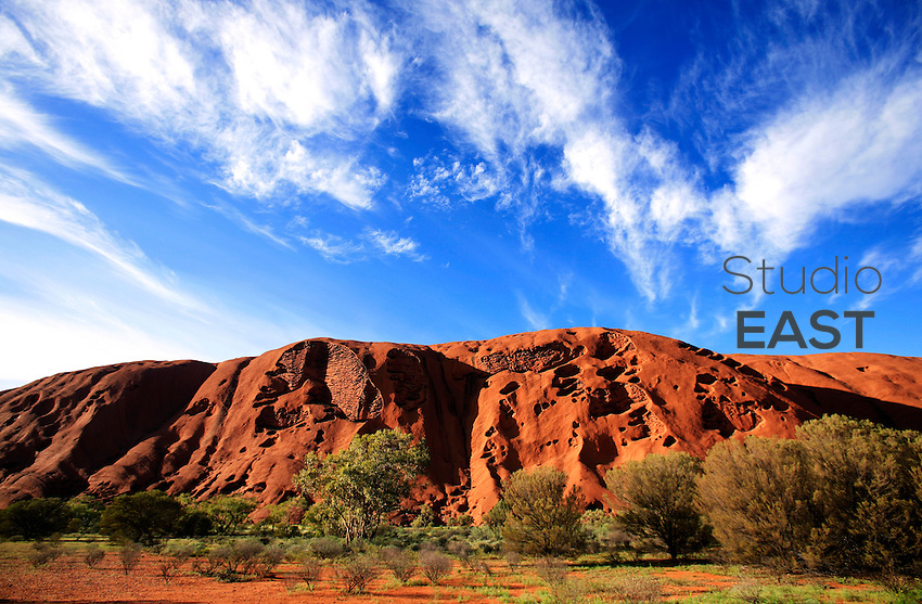 Ayers Rock, or Uluru, Northern Territory, Australia, on December 30, 2008. Photo by Lucas Schifres/Pictobank