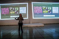 Priceless Allied Bats of Agriculture, conference of Dr. Veronica Zamora, during the first day of activities and day celebrations of the Jaguar in Alamos, Sonora 4oct2019 by Nature and Culture International Mexico (NC).<br /> (© Photo: Luis Gutierrez NortePhoto.com)<br /> <br /> Murciélagos invaluables aliados de la Agricultura, conferencia de la Dra. Veronica Zamora, durante el primer dia de actividades y festejos de día del Jaguar en Alamos, Sonora 4oct2019 por Naturaleza y Cultura Internacional Mexico (NC). <br /> (© Foto:Luis Gutierrez NortePhoto.com)