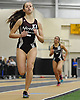 Sophie Rosencrans of North Shore wins the girls' 1,500 meter race during a Nassau County winter track & field meet at St. Anthony's High School in South Huntington on Tuesday, Dec. 19, 2017. She posted a time of 5:00.75.