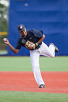 Sergio Alcantara (10) of the Hillsboro Hops prior to a game against the Tri-City Dust Devils at Ron Tonkin Field in Hillsboro, Oregon on August 24, 2015.  Tri-City defeated Hillsboro 5-1. (Ronnie Allen/Four Seam Images)