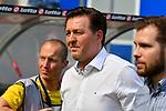 14.04.2018, wirsol-Rhein-Neckar-Arena, Sinsheim, GER, 1. FBL, TSG 1899 Hoffenheim vs Hamburger SV, im Bild Christian Titz (Trainer, Hamburger SV)<br /> <br /> Foto &copy; nordphoto / Fabisch