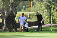 Peter Lawrie (IRL) during the 1st day at the  Andalucía Masters at Club de Golf Valderrama, Sotogrande, Spain. .Picture Fran Caffrey www.golffile.ie