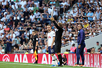 Christian Eriksen of Tottenham Hotspur enters the field of play possibly for the last time in a Spurs shirt during Tottenham Hotspur vs Newcastle United, Premier League Football at Tottenham Hotspur Stadium on 25th August 2019